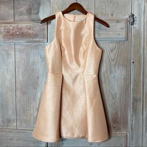 KEEPSAKE the Label Dresses - Keepsake The Label Metallic A Line Mini Dress M